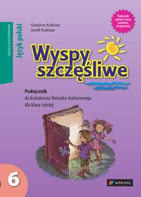Język polski kl. 6 Wyspy szczęśliwe. Podręcznik dokształcenia literacko-kulturowego - podręcznik - szkoła podstawowa - kl. 6
