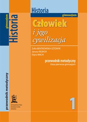 Historia kl. 1  - przewodnik metodyczny - gimnazjum - kl. 1