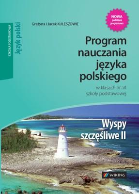Język polski kl. 4-6 Wyspy szczęśliwe - program nauczania - szkoła podstawowa - kl. 4, 5, 6