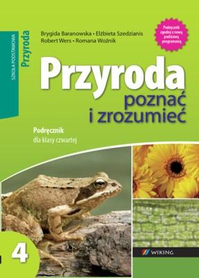 Przyroda kl. 4 Poznać izrozumieć - podręcznik - szkoła podstawowa - kl. 4
