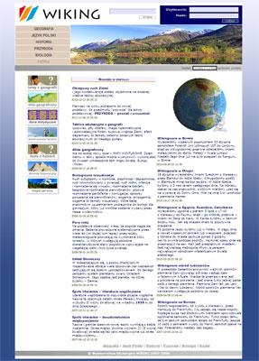 Portal Edukacyjny www.wiking.edu.pl - portal edukacyjny - gimnazjum - kl. 1, 2, 3