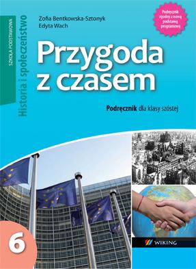Historia ispołeczeństwo kl. 6 Przygoda zczasem - podręcznik - szkoła podstawowa - kl. 6