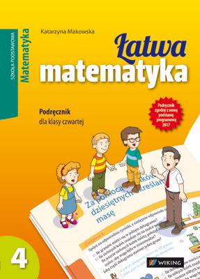 Matematyka kl.4 Łatwa matematyka - podręcznik - szkoła podstawowa (kl. 1-8) - kl. 4