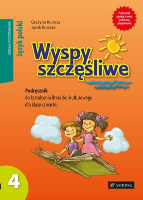 Język polski kl.4 Wyspy szczęśliwe. Podręcznik dokształcenia literacko-kulturowego - podręcznik - szkoła podstawowa - kl. 4