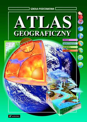 Geografia Atlas Geograficzny - atlas - szkoła podstawowa - kl. 7, 8