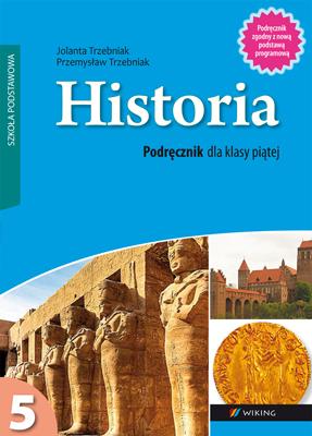 Historia kl.5  - podręcznik - szkoła podstawowa (kl. 1-8) - kl. 5