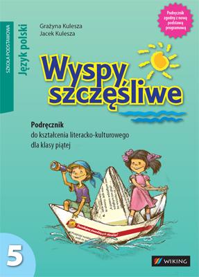 Język polski kl.5 Wyspy szczęśliwe, klasa 5 szkoła podstawowa - podręcznik - szkoła podstawowa (kl. 1-8) - kl. 5