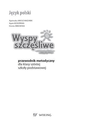 Język Polski - przewodnik metodyczny - część 3  - przewodnik metodyczny - szkoła podstawowa (kl. 1-8) - kl. 4, 5