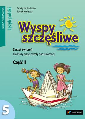Język polski kl.5 Zeszyt ćwiczeń dojęzyka polskiego cz. 2 - ćwiczenia - szkoła podstawowa - kl. 5