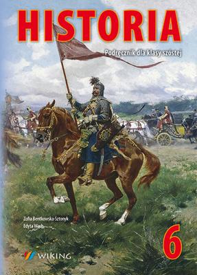 Historia kl.6  - podręcznik - szkoła podstawowa - kl. 6