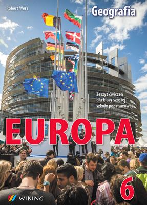 Geografia kl. 6 Europa - ćwiczenia - szkoła podstawowa - kl. 6