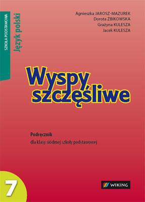 Język polski kl.7 Wyspy szczęśliwe, - podręcznik - szkoła podstawowa - kl. 7