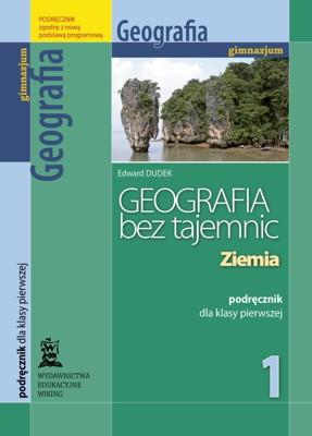 Geografia bez tajemnic kl. 1 Ziemia - podręcznik - gimnazjum - kl. 1