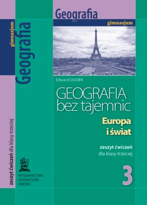 Geografia bez tajemnic kl. 3 Europa iświat - ćwiczenia - gimnazjum - kl. 3