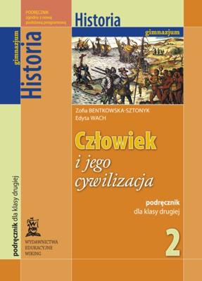 Historia kl. 2 Człowiek ijego cywilizacja - podręcznik - gimnazjum - kl. 2