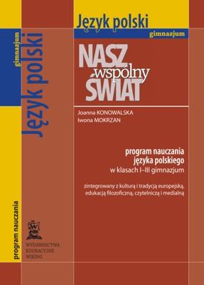 Język polski kl. 1-3  - program nauczania - gimnazjum - kl. 3
