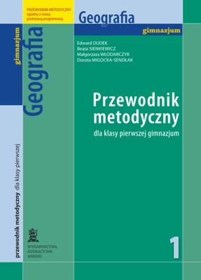Geografia kl. 1  - przewodnik metodyczny - gimnazjum - kl. 1