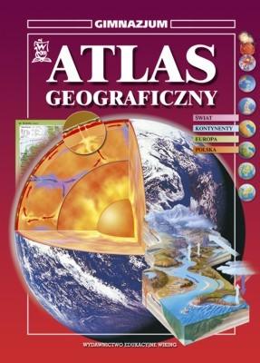 Geografia kl. 1-3 Atlas Geograficzny - atlas - gimnazjum - kl. 2, 3