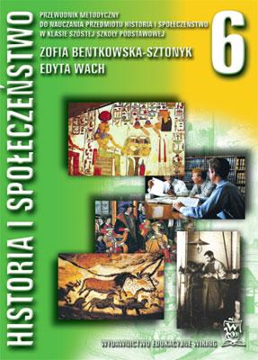 Historia ispołeczeństwo kl. 6  - przewodnik metodyczny - szkoła podstawowa - kl. 6
