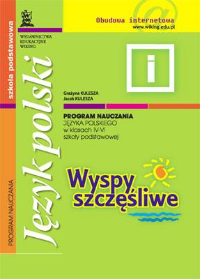 Język polski kl. 4-6  - program nauczania - szkoła podstawowa - kl. 4, 5, 6