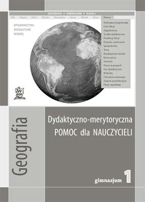 Geografia kl. 1 Pomoc dydaktyczna - przewodnik metodyczny - gimnazjum - kl. 1