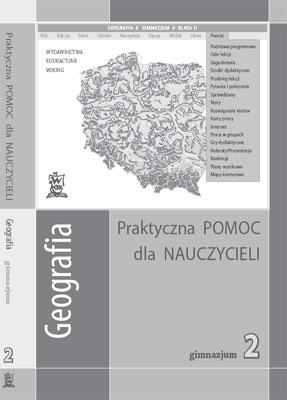 Geografia kl. 2 Pomoc dydaktyczna - przewodnik metodyczny - gimnazjum - kl. 2