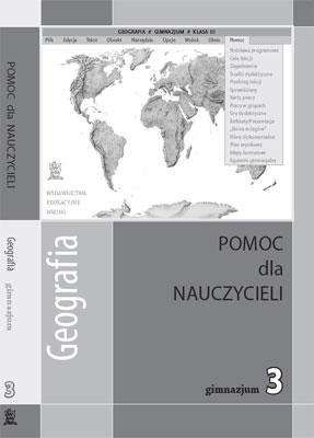 Geografia kl. 3 Pomoc dydaktyczna - przewodnik metodyczny - gimnazjum - kl. 3